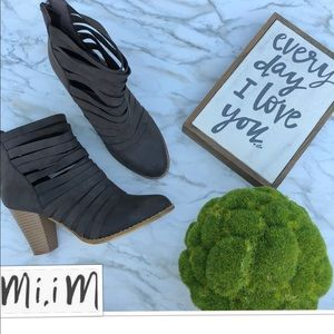Strapped Hybrid Style Bootie